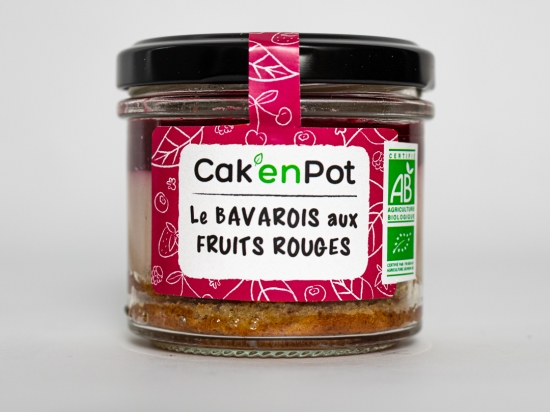 Cak'en Pot: le bavarois aux fruits rouges