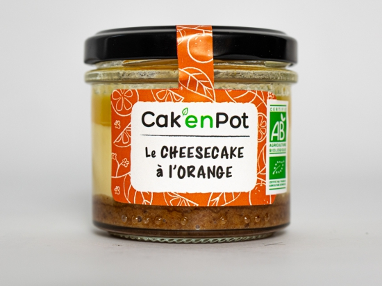 Cak'en Pot : le cheesecake à l'orange